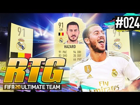 WE GOT HAZARD! - #FIFA20 Road to Glory! #24 Ultimate Team