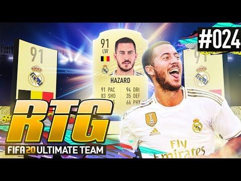 WE GOT HAZARD! - #FIFA20 Road to Glory! #24 Ultimate Team
