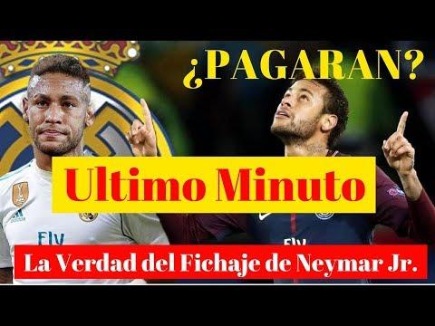 ULTIMO MINUTO | Información Sobre el Fichaje de Neymar Jr. | REAL MADRID thumbnail