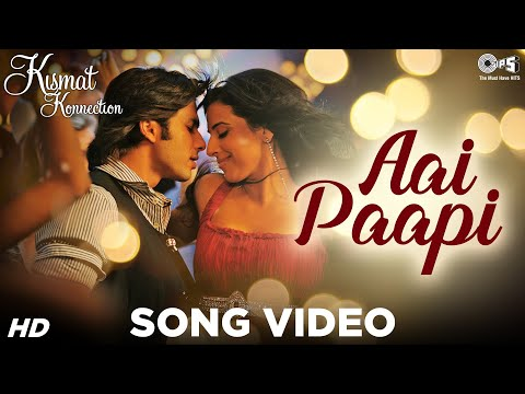Aai Paapi - Kismat Konnection Ho Jaaye - Shahid Kapoor & Vidya Balan - Official video