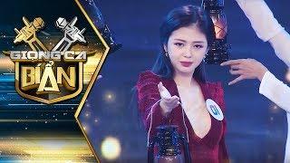 Liz Kim Cương (LIME) hát bolero khiến Hari Won, Trấn Thành bất ngờ | Giọng Ca Bí Ẩn 2018