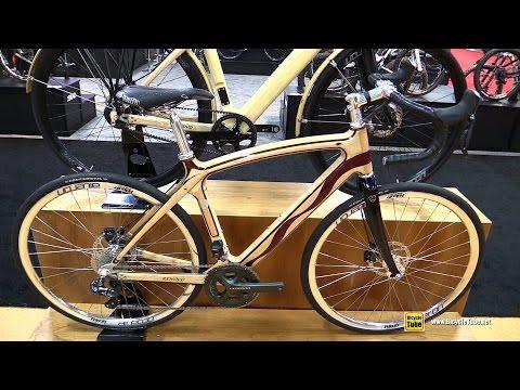 2017 Renovo Astoria Wooden Road Bike - Walkaround - 2016 Interbike Las Vegas