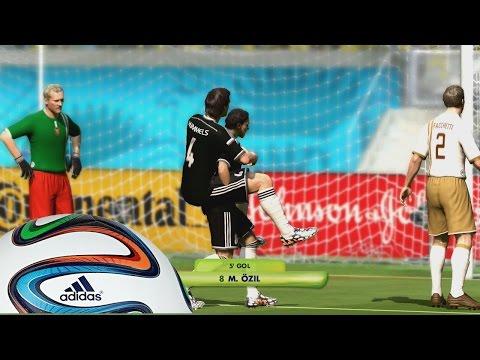 2014 Fifa World Cup - All Stars Vs Leyendas - Messi, Bale, Van Persie y mas..Gameplay Xbox