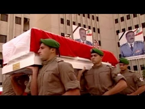 Big crowds mourn Lebanese intelligence chief