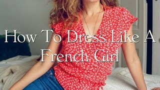 Minimalist French Style   How To Dress Like A French Woman