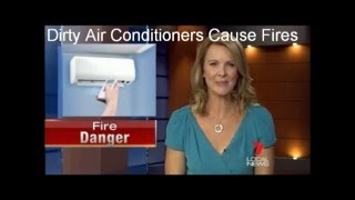 Dirty Air Conditioners Cause Fires Unless HydroKleened