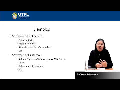 UTPL DIFERENCIAS ENTRE SOFTWARE DEL SISTEMA Y DE APLICACIÓN [(FUNDAMENTOS INFORMÁTICOS.)]