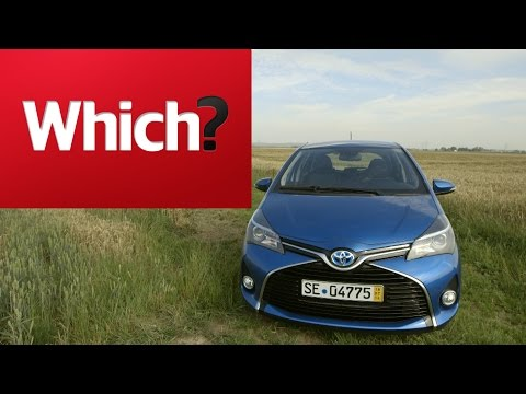 2014 Toyota Yaris Hybrid - Which? first drive