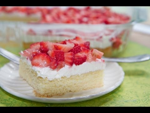 Strawberry Shortcake Bars - Summer Dessert Fav!!