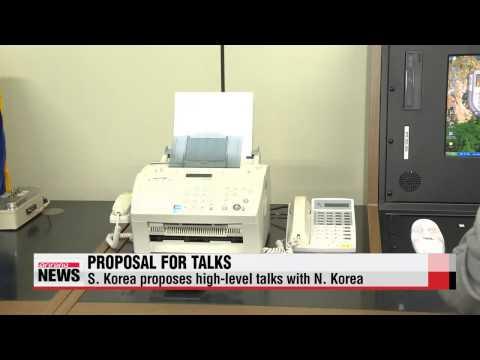 S. Korea proposes high-level talks with N. Korea