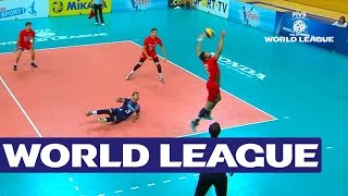 Portugal vs Belgium - Highlights - FIVB Volleyball World League 2015