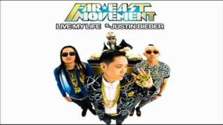 Far East Movement ft. Justin Bieber - Live My Life (Studio Version).avi