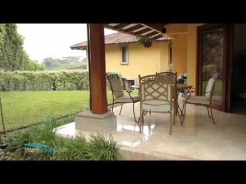 Casas de lujo en villa real santa ana costa rica youtube - Casas prefabricadas de lujo ...