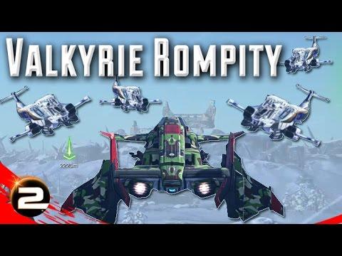 Valkyrie Rompity (Killstreak Tuesday) - PlanetSide 2 Gameplay