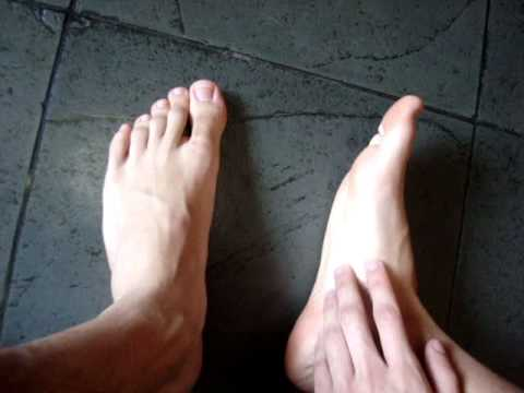 Male Bare Feet video