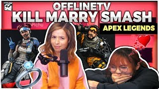 KILL, MARRY, SMASH - APEX LEGENDS, POKEMON & MORE ft. POKIMANE, LILYPICHU, XELL & YVONNE