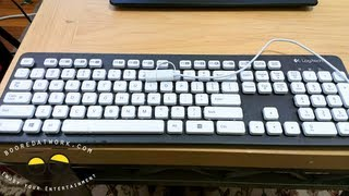 Logitech K310 Washable Keyboard Review- Just Soak it