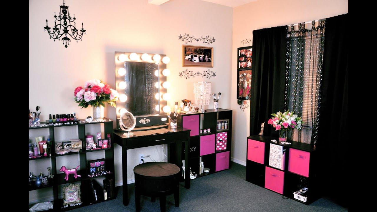 vanity tour makeup collection 2012 youtube. Black Bedroom Furniture Sets. Home Design Ideas