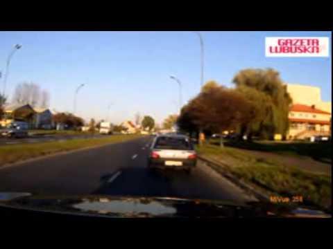 Kierowca Peugeota Wymusił Pierwszeństwo W Zielonej Górze
