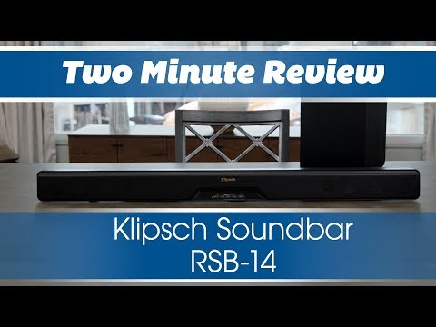 Two Minute Review: Klipsch Soundbar RSB-14
