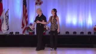 US OPEN 2014 Swing Dance Championships  Showcase Division  Stephen & Sonya