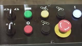 Cosen SH-500M Semi Automatic Mitre Cutting Bandsaw c/w 1M Table