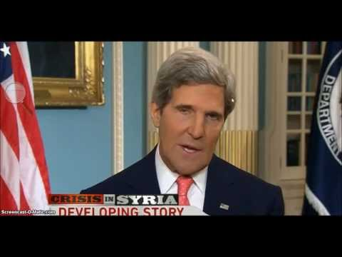 ALERT!!!!! This is NOT the REAL John Kerry!! Cloned and replaced by this double!!!