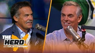 Jeff Fisher evaluates Jared Goff's growth, talks burden of Hard Knocks & the Browns | NFL | THE HERD