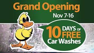 West Jordan Quick Quack Car Wash Grand Opening - 10 Days Free - Now Open!