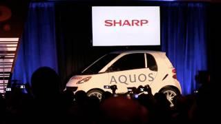 Sharp CES: TV's Bigger than Cars
