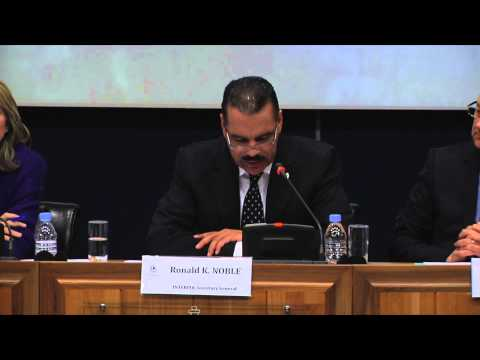 INTERPOL press conference on missing Malaysia Airlines flight MH 370,11 March 2014