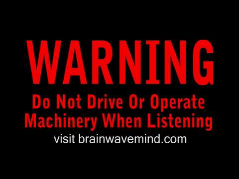 Brainwave Entrainment - Powerful Serotonin And Endorphin Release Deep Sedative Effect video
