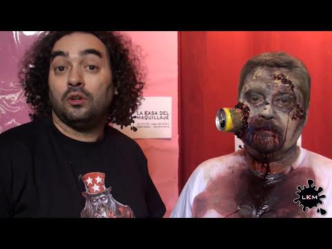 Zombie Makeup Tutorial Maquillaje de Zombis