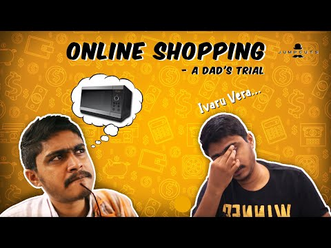 Online Shopping a Dad's trial   Jump Cuts Tamil   Vigo Video