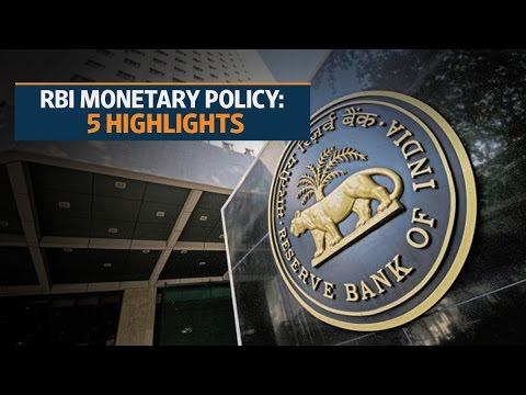 RBI monetary policy: 5 highlights