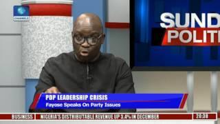 Sunday Politics: Fayose Speaks On Party Issues Pt 1