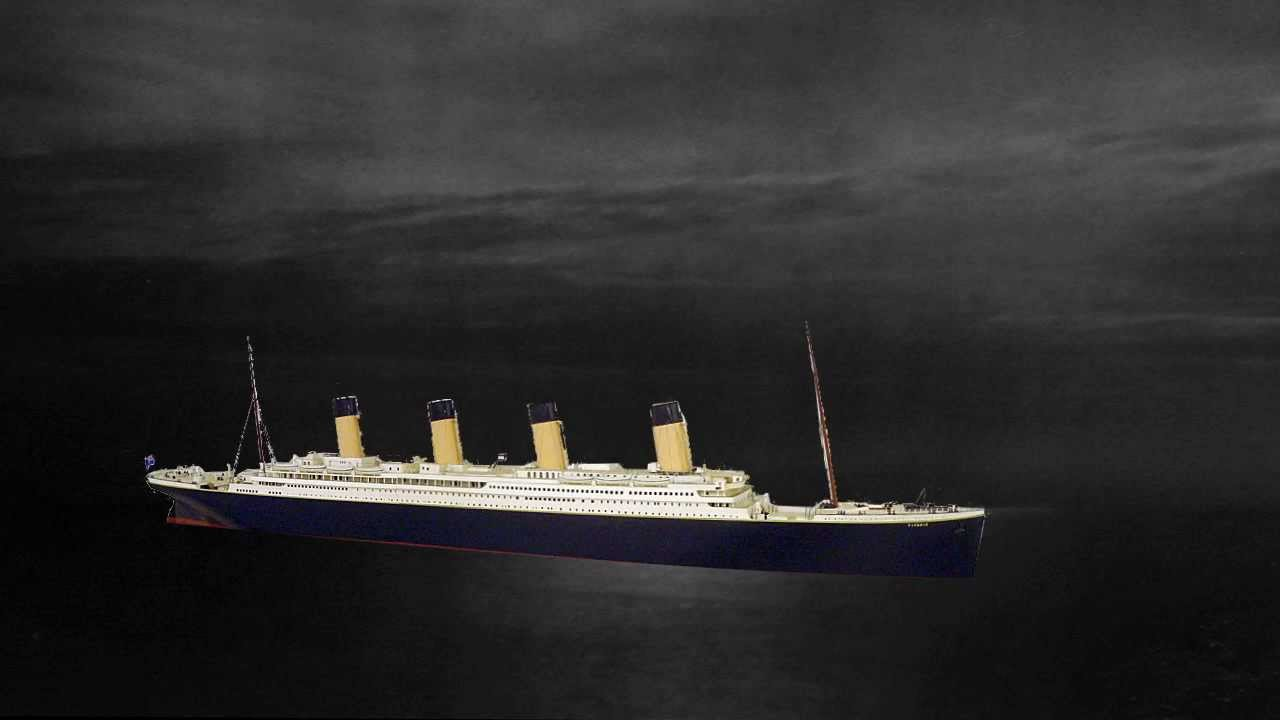 2d Animation Of Titanic Sinking Youtube