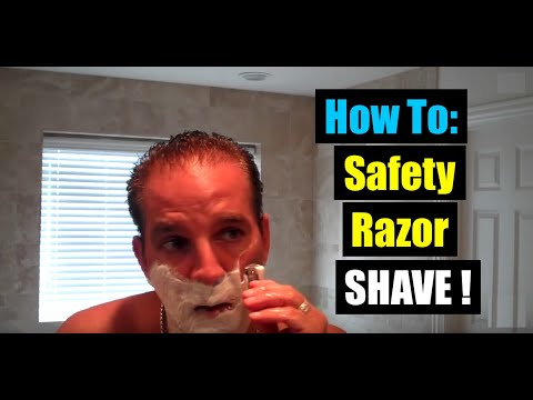MERKUR HD 34C SAFETY RAZOR DE SHAVING: BEST HOW TO SHAVE USING CREAM SOAP & A BADGER BRUSH