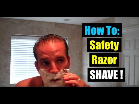 MERKUR HD 34C SAFETY RAZOR DE SHAVING: BEST HOW TO SHAVE USING CREAM SOAP & A BADGER BRUSH