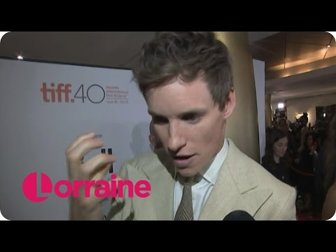 Eddie Redmayne On His First Time On Set As A Transgender Woman | Lorraine