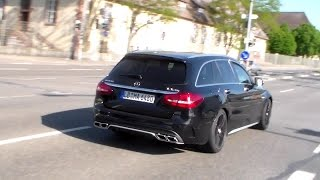 Mercedes C63 S AMG T-Modell lovely sound HD