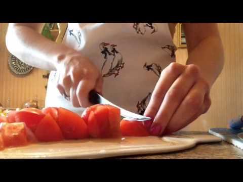 Готовим вместе томатный суп)))))