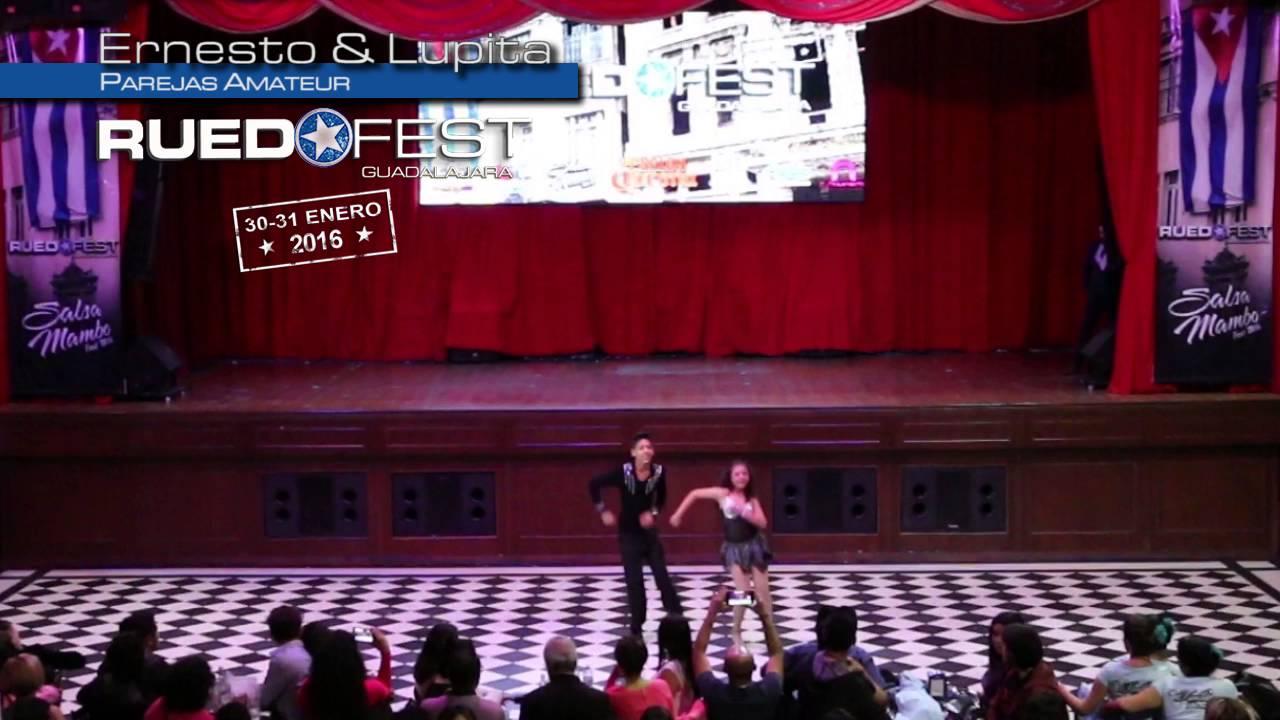 Ernesto & Lupita   Parejas Amateur   Ruedafest 2016   Guadalajara