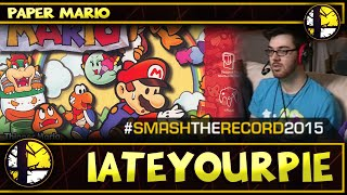 STR2015 - IateYourPie's Paper Mario Speedrun