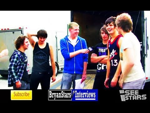 I See Stars Interview AP Tour 2011