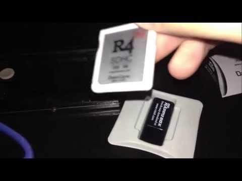 R4i SDHC Dual-Core 2013 3DS Review/Unboxing