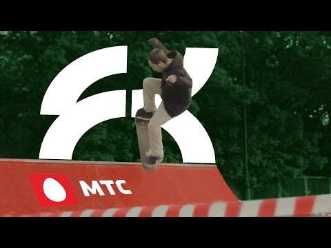 Монтаж скейт-плазы МТС в Парке Победы, СПб.
