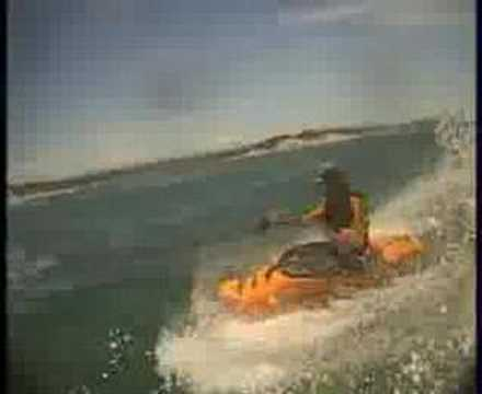 freestyle surf kayaking Video