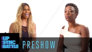 Preshow: Laverne Cox vs. Samira Wiley | Lip Sync Battle
