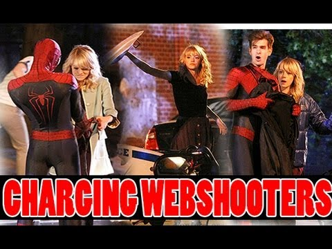 The Amazing Spider-Man 2| CHARGING WEBSHOOTERS!? Gwen Charges Spidey's Webshooters